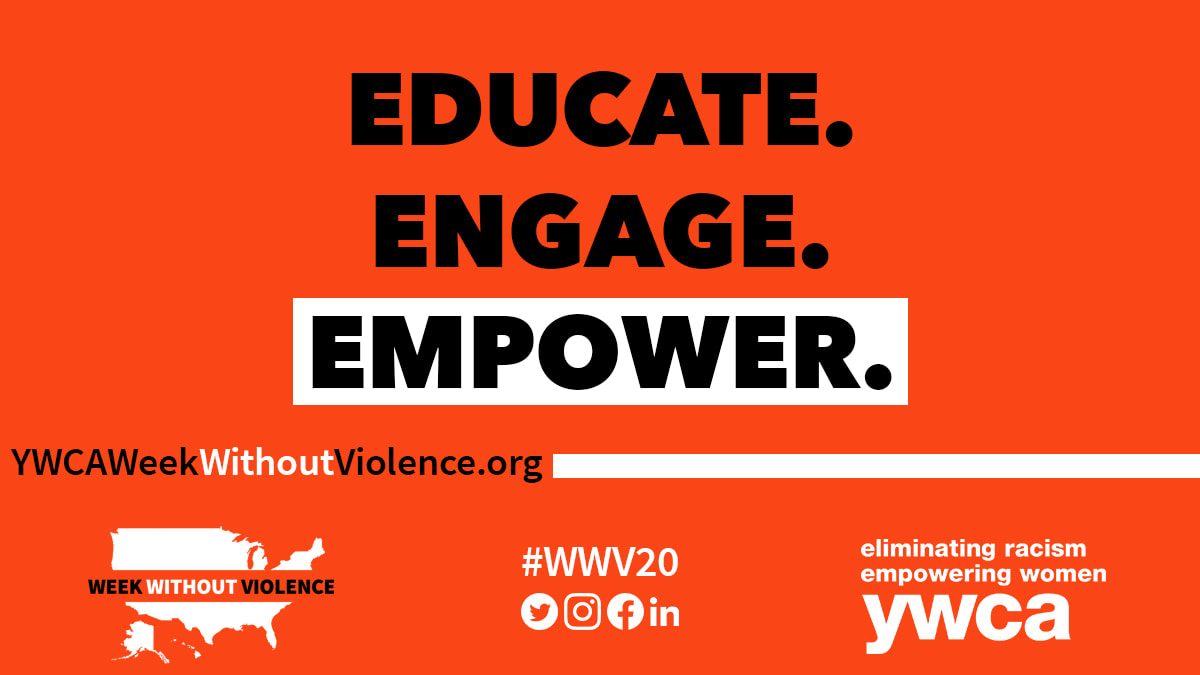 YWCA Week Without Violence Graphic